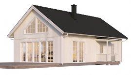 bygga hus 80 kvm pris